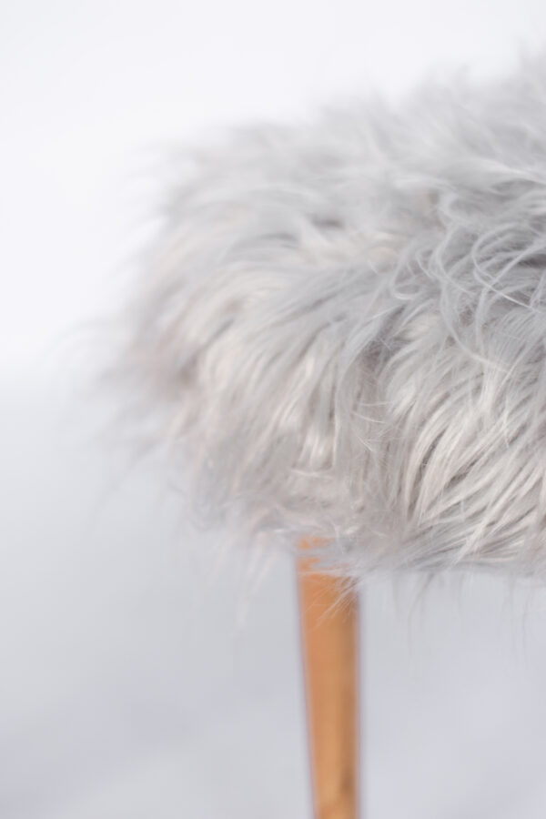 Peluche sintético de pelo largo