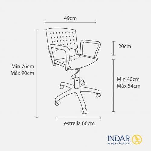 IP7000 Giratoria - Medidas