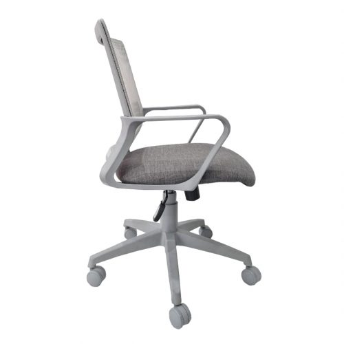 Silla Link gris - Lateral